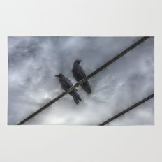 Couple of Crows Rug