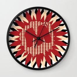 Moulded Rides Puzzle Wall Clock
