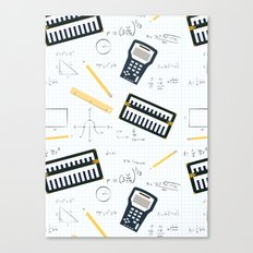 Math Canvas Print