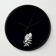 Join Hands Wall Clock
