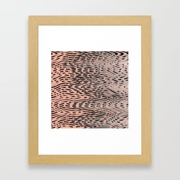 Electric Waves Framed Art Print
