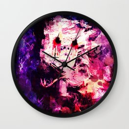 Beauty is Blind  Wall Clock