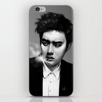 kpop iPhone & iPod Skins featuring D.O. | BadBoy by Lott