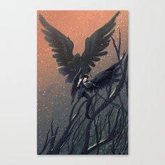 The Shadow Canvas Print