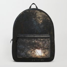 New Year's Moonlit River Backpack