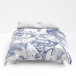 Ocean scene Comforters
