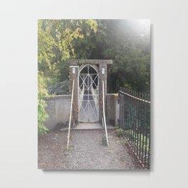 Secret Gate Metal Print