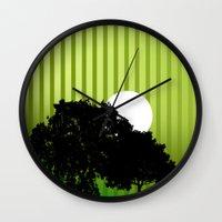 virginia Wall Clocks featuring Virginia  by Tdrisk46