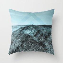 Tales of Wonder, Chevron Pattern, Sand Dunes Throw Pillow