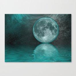 MOON FANTASY Canvas Print