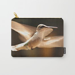 The Delight Of Hummingbird Wings Carry-All Pouch