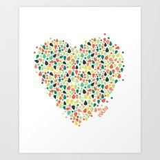 Valentine´s Day Art Print