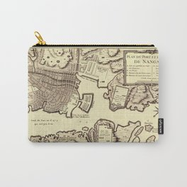 Map Of Nagasaki 1752 Carry-All Pouch