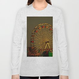 Pacific Park at sunset Long Sleeve T-shirt