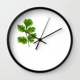 Cilantro Or Coriander   Funny Herb Wall Clock