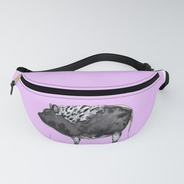 BUGSY in purple Fanny Pack
