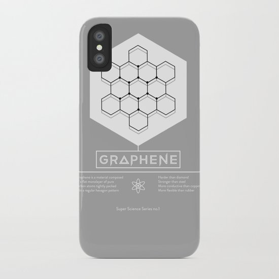 Graphene: Super Science Series No.1  iPhone Case