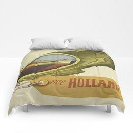 Vintage poster - Holland Comforters