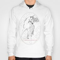horses Hoodies featuring Horses  by Magdalena Almero