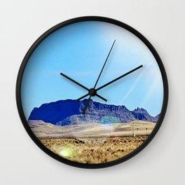 Nevada Plateau Wall Clock