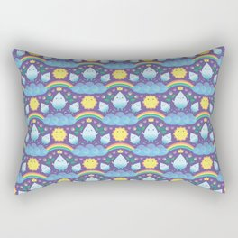 Happy water spirits Rectangular Pillow