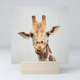 Giraffe 2 - Colorful Mini Art Print
