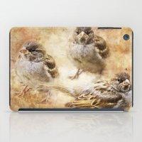 sparrow iPad Cases featuring Sparrow by Kimberley Britt