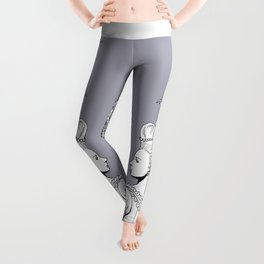 Girl With Ship Leggings