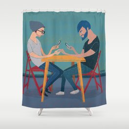 ALIENATION Shower Curtain