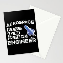 Aerospace Engineer Space Shuttle Gift  Stationery Cards