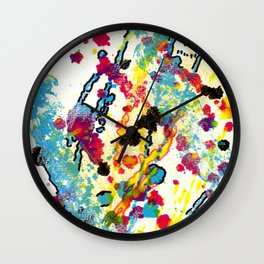 Experiments in Motion-Quad 1-Part 2 Wall Clock