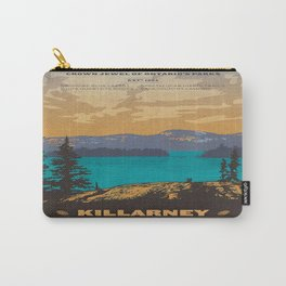 Vintage poster - Killarney Provincal Park, Canada Carry-All Pouch