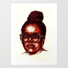 -3- Art Print