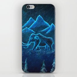 A Mammoth Journey iPhone Skin
