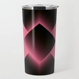 two energies pink black fold Travel Mug