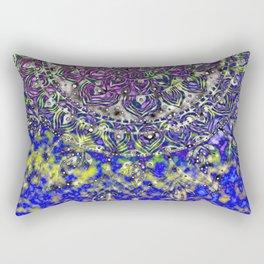 Multicolor Mandala Art Rectangular Pillow