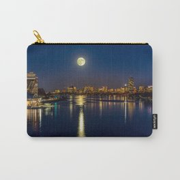 Moon light city of Boston Carry-All Pouch