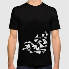 Paper Planes X-LARGE Black Mens Fitted Tee