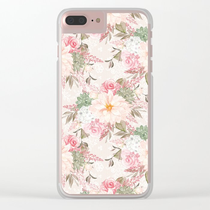Spring is in the air #20 Clear iPhone Case