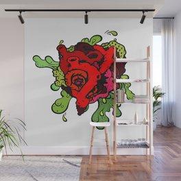 Messy Heart Wall Mural
