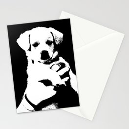 little cute puppy dog Stationery Cards