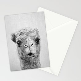 Camel - Black & White Stationery Cards