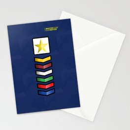 Clases Progresivas Stationery Cards