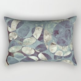Background Metallic Ocean II Rectangular Pillow