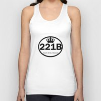 221b Tank Tops featuring 221B by Lugonbe