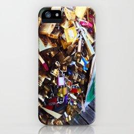 Locks Forever iPhone Case