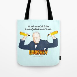 WINSTON AND WHISKEY  Tote Bag