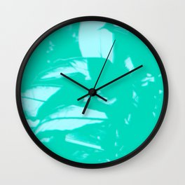Leaves and Light Wall Clock