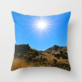 This Idaho Sun Throw Pillow