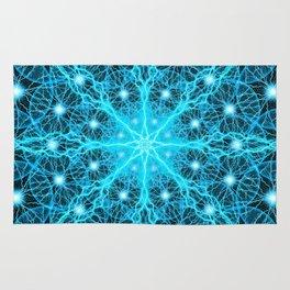 Electric Universe Mandala Rug
